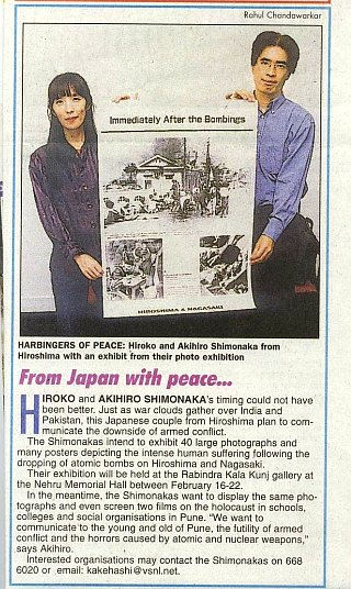 From Japan with peace